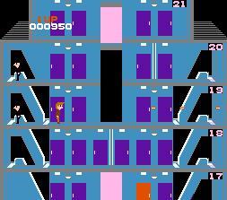 エレベーターアクション戦闘